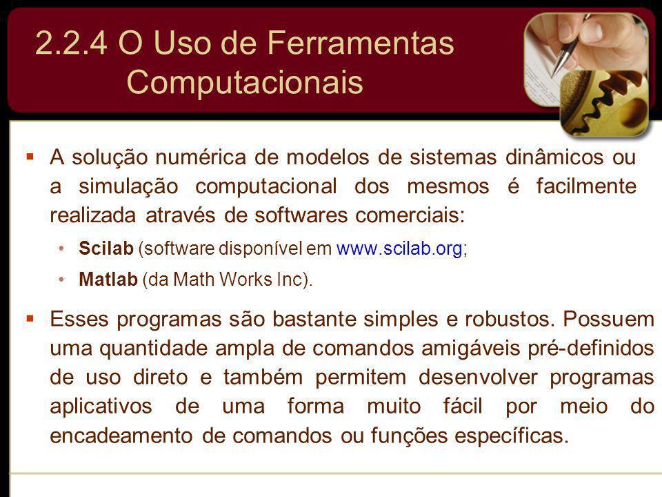 2.2.4 O Uso de Ferramentas Computacionais