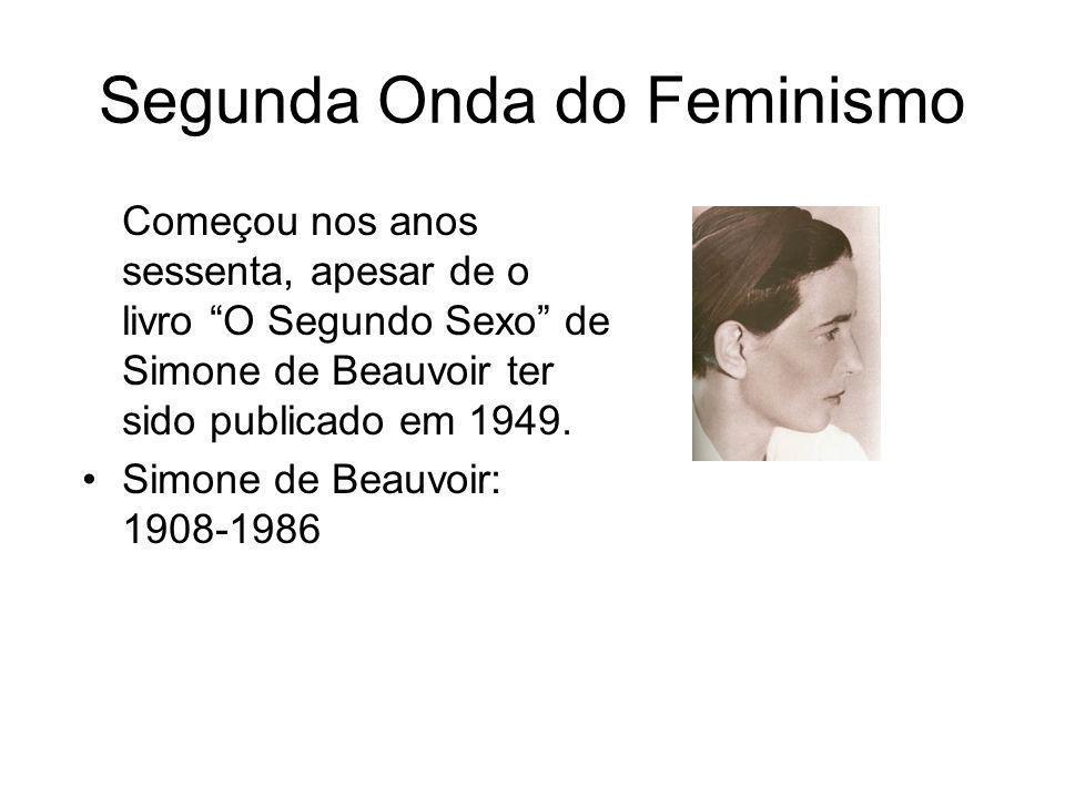 Segunda Onda do Feminismo