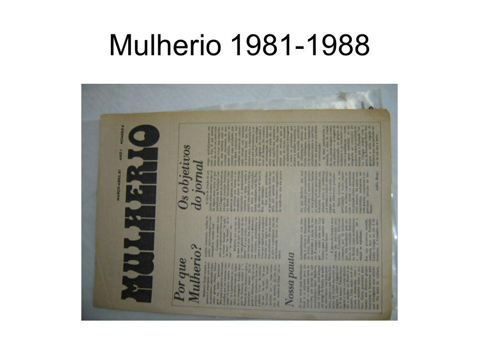 Mulherio 1981-1988