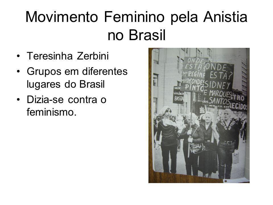 Movimento Feminino pela Anistia no Brasil