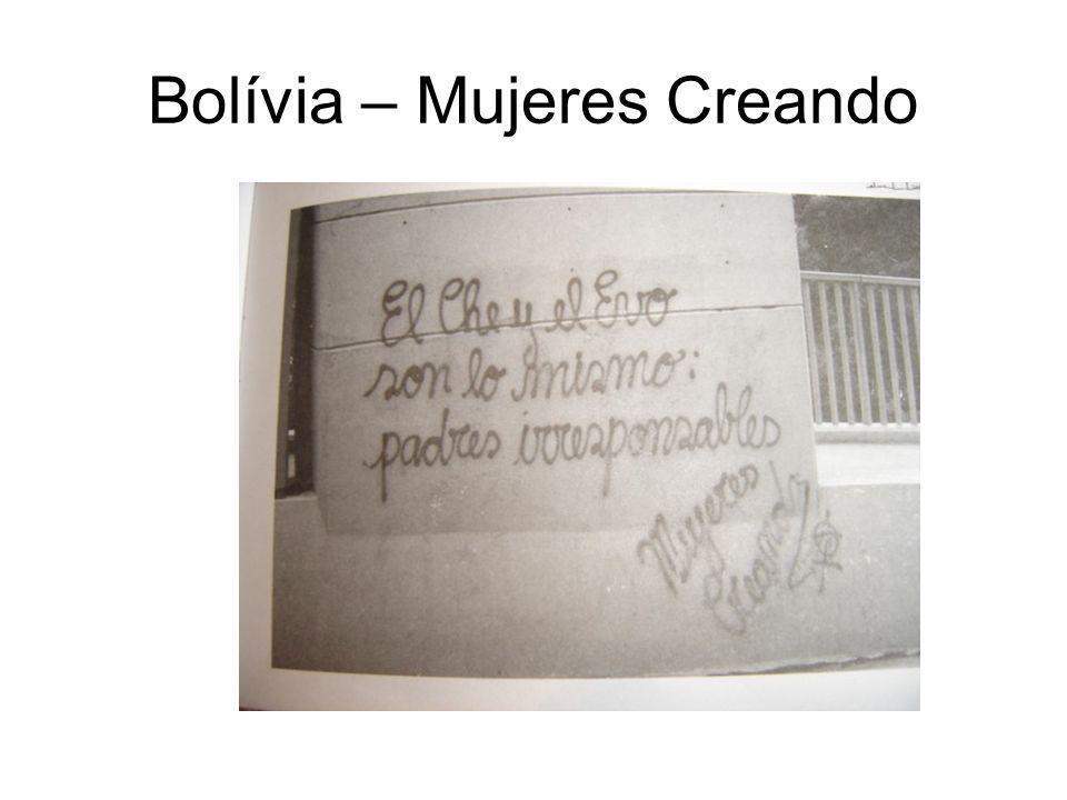Bolívia – Mujeres Creando
