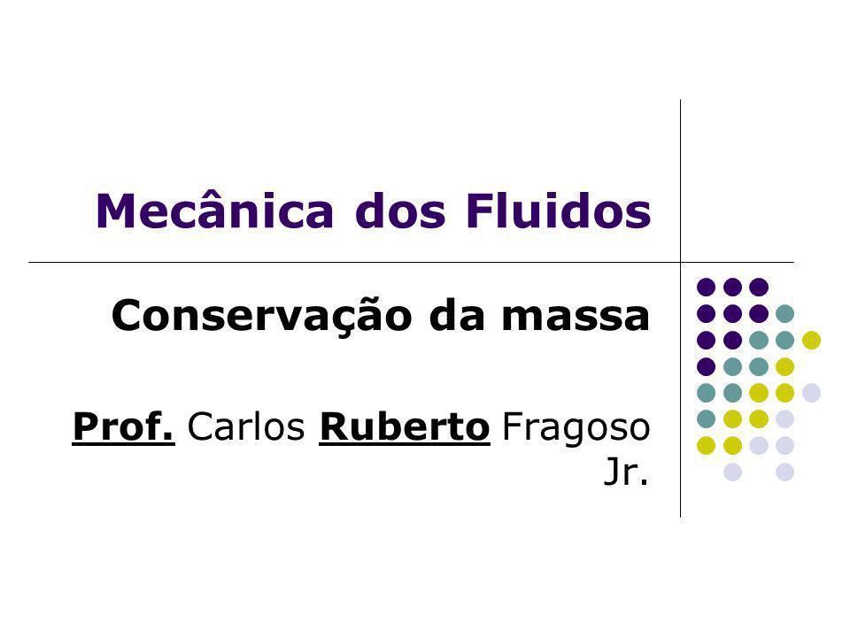 Conservação da massa Prof. Carlos Ruberto Fragoso Jr.