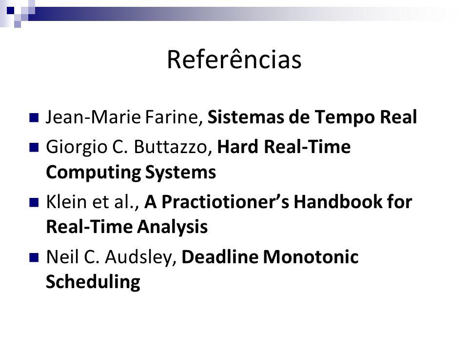 Referências Jean-Marie Farine, Sistemas de Tempo Real