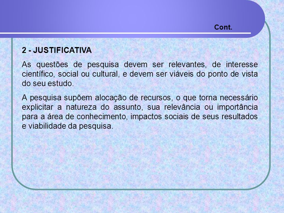 Cont. 2 - JUSTIFICATIVA.