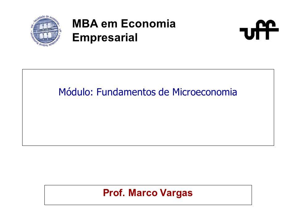 Módulo: Fundamentos de Microeconomia