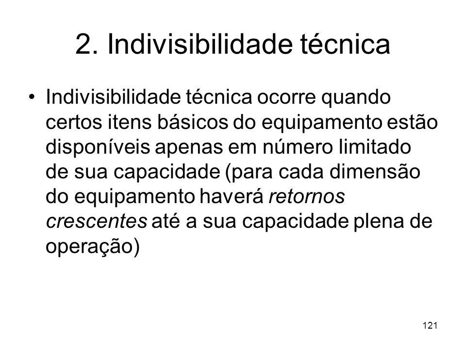 2. Indivisibilidade técnica
