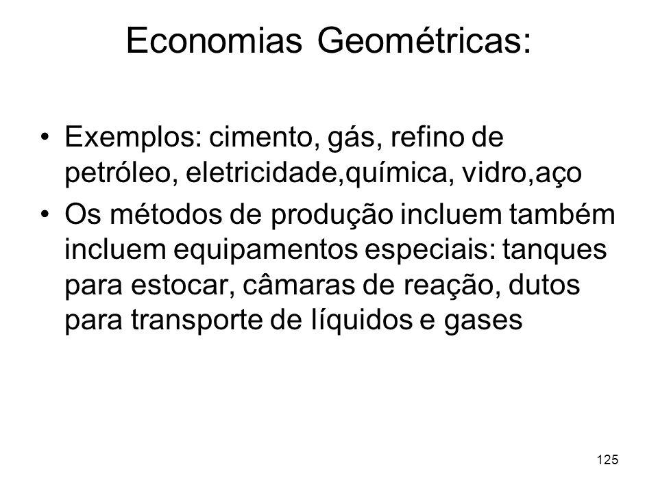Economias Geométricas: