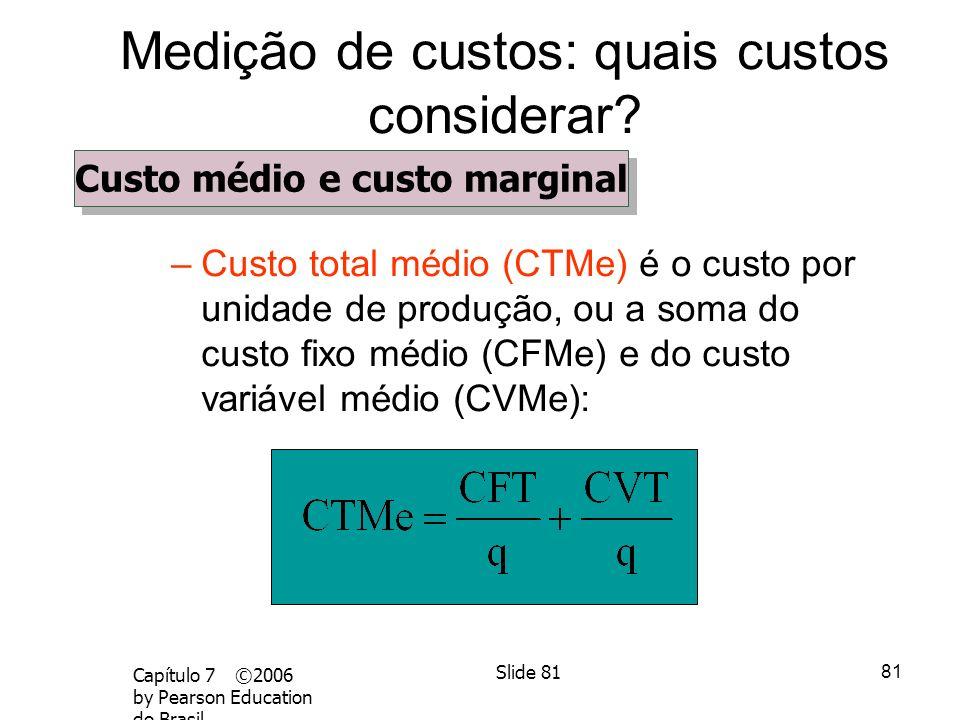 Medição de custos: quais custos considerar
