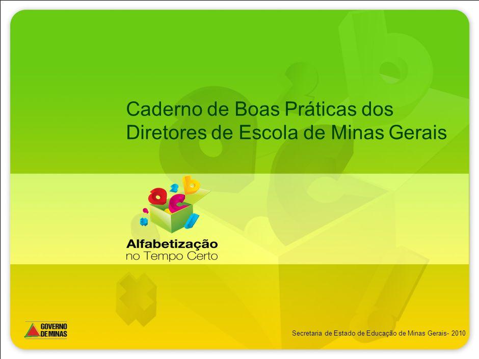 Caderno de Boas Práticas dos Diretores de Escola de Minas Gerais
