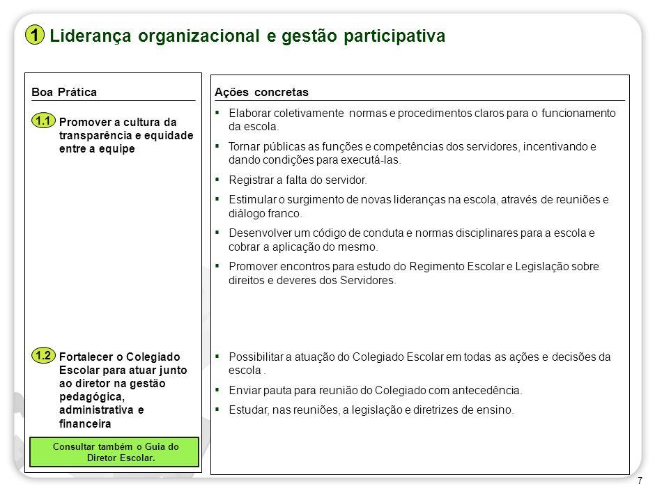Liderança organizacional e gestão participativa