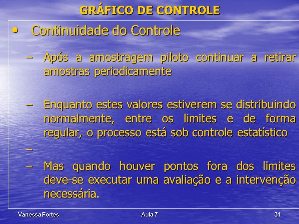 Continuidade do Controle