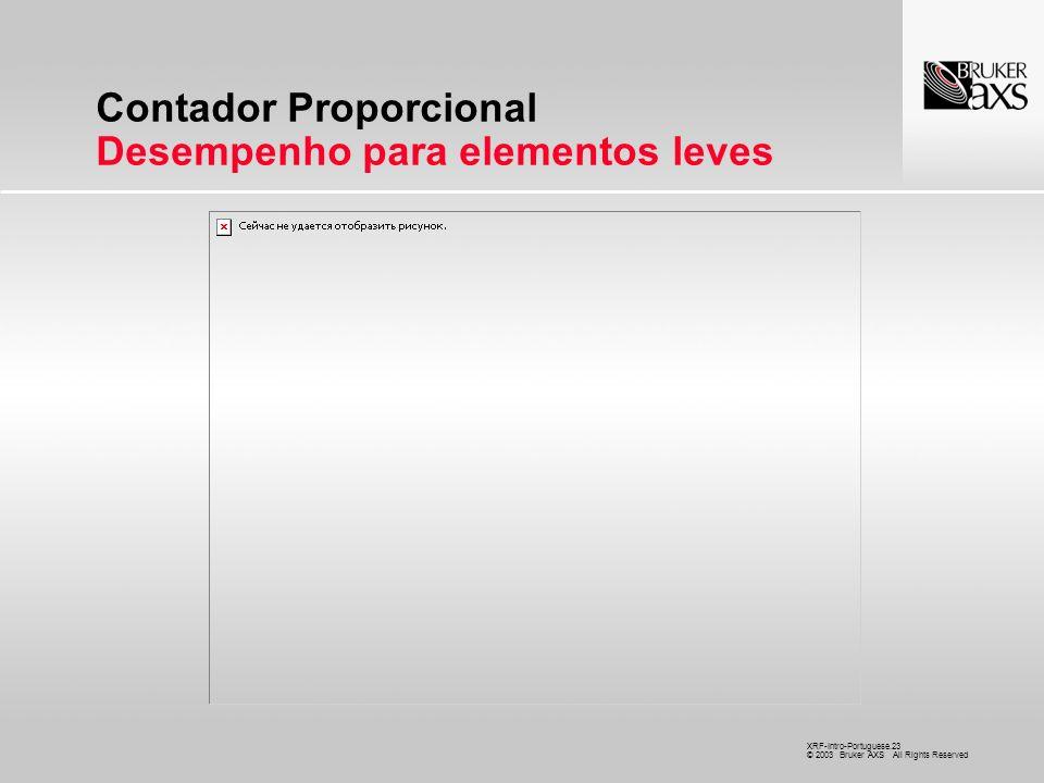 Contador Proporcional Desempenho para elementos leves