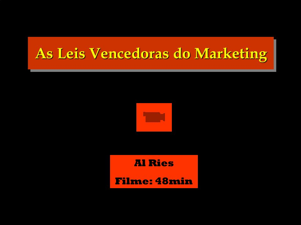 As Leis Vencedoras do Marketing