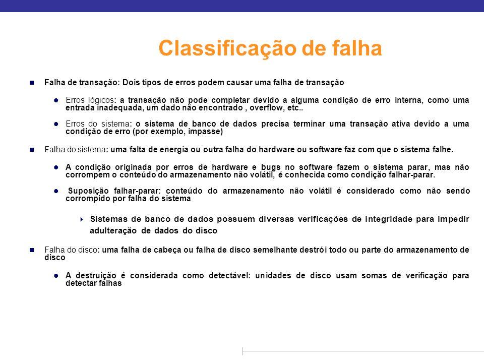 Classificação de falha