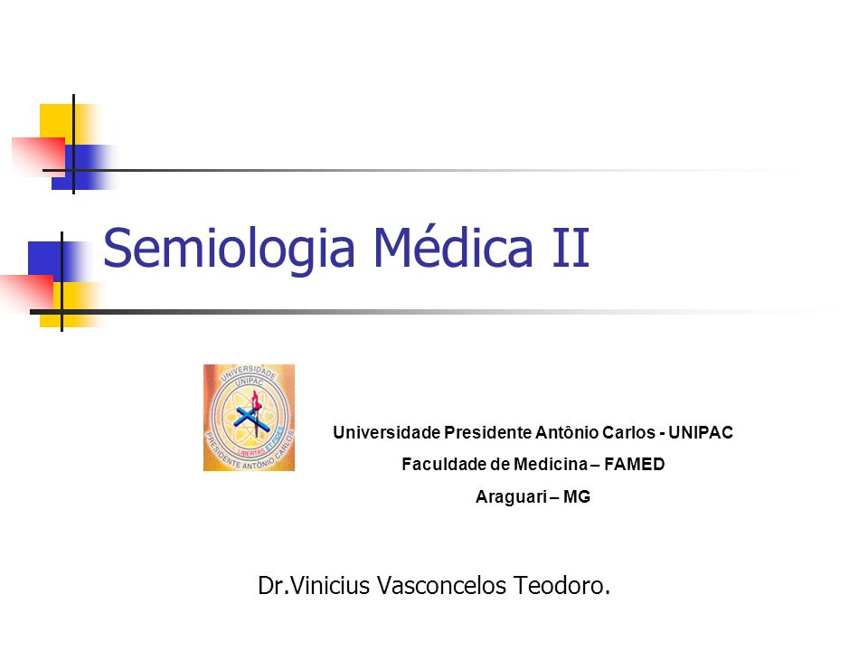 Dr.Vinicius Vasconcelos Teodoro.