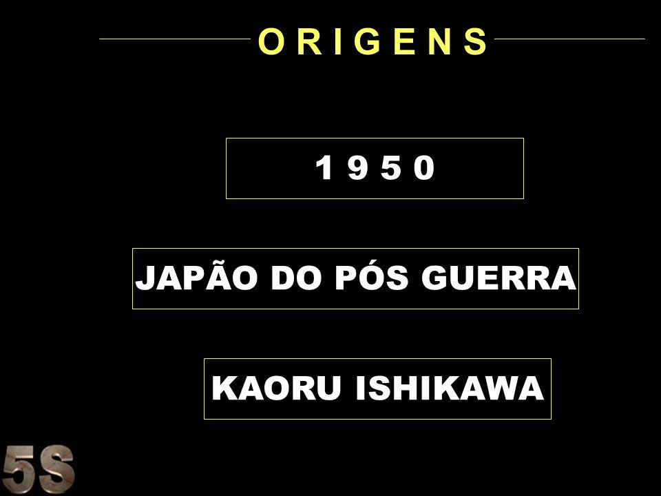 O R I G E N S 1 9 5 0 JAPÃO DO PÓS GUERRA KAORU ISHIKAWA