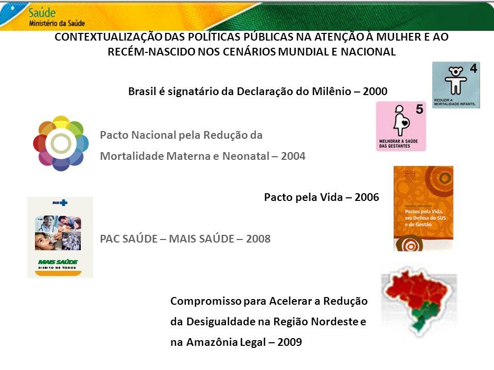 CONTEXTUALIZAÇÃO DAS POLÍTICAS PÚBLICAS NA ATENÇÃO À MULHER E AO RECÉM-NASCIDO NOS CENÁRIOS MUNDIAL E NACIONAL
