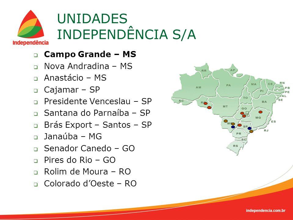 UNIDADES INDEPENDÊNCIA S/A