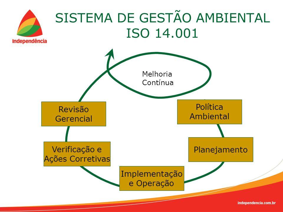 SISTEMA DE GESTÃO AMBIENTAL ISO 14.001