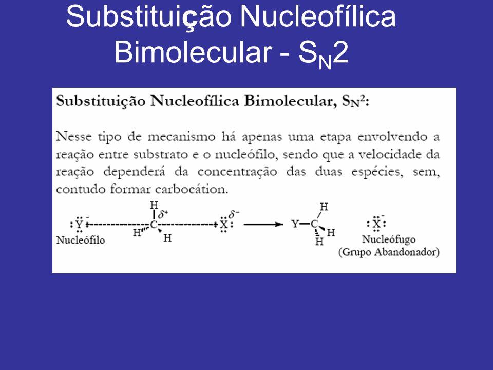 Substituição Nucleofílica Bimolecular - SN2