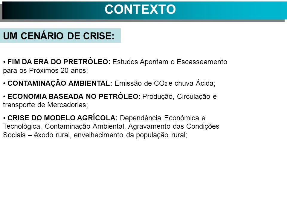 CONTEXTO HISTÓRICO UM CENÁRIO DE CRISE: