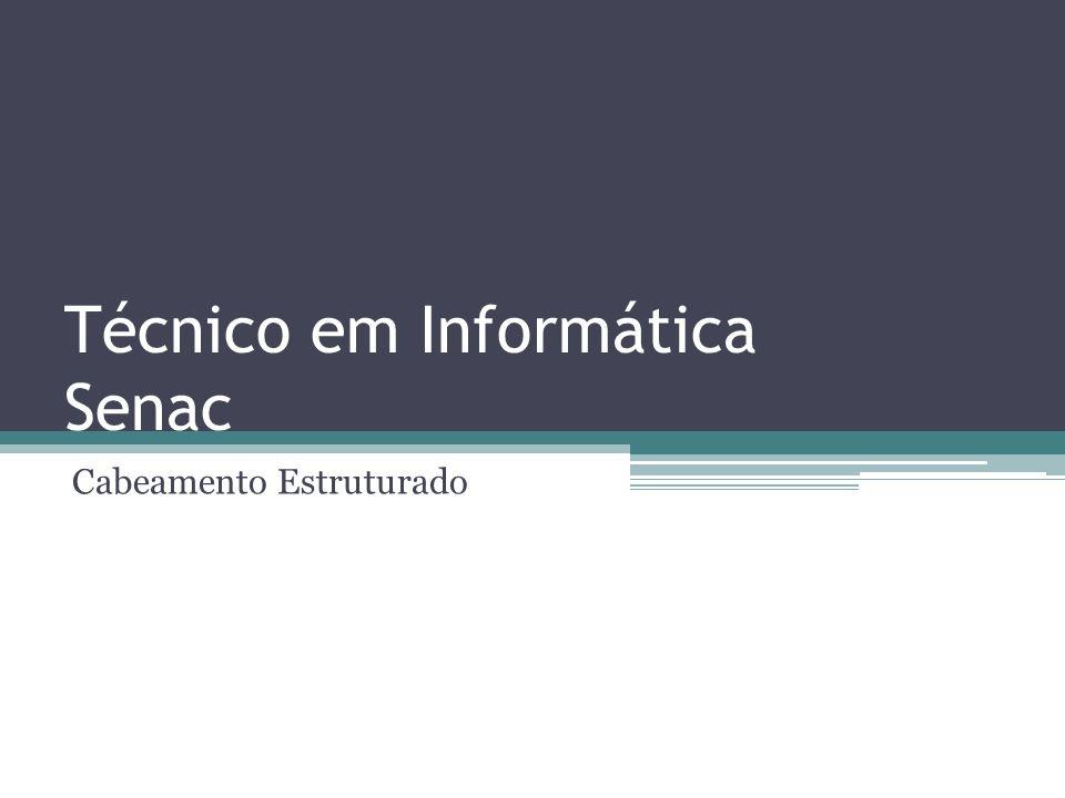 Técnico em Informática Senac