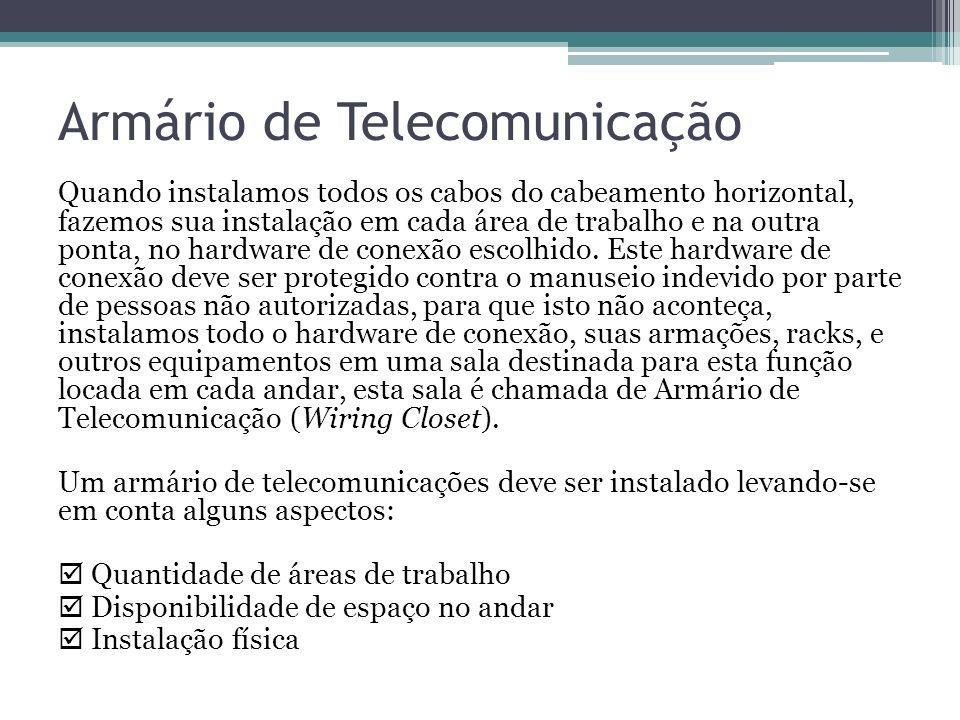 Armário de Telecomunicação