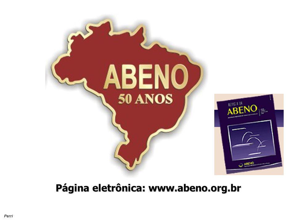 Página eletrônica: www.abeno.org.br