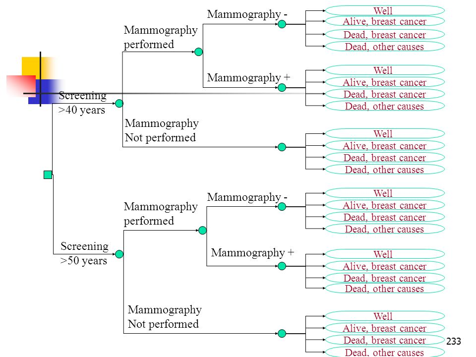 Mammography - Mammography performed Mammography + Screening