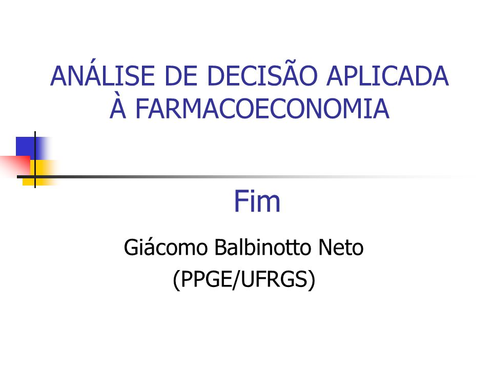 Giácomo Balbinotto Neto (PPGE/UFRGS)