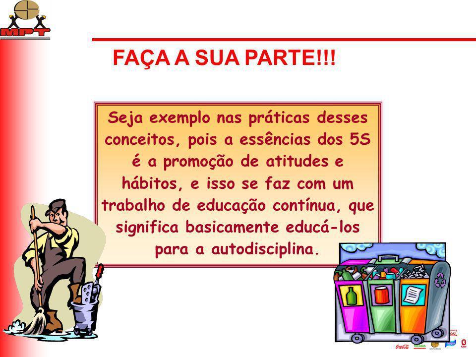 FAÇA A SUA PARTE!!!