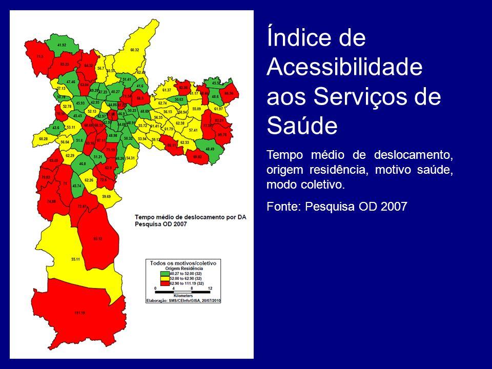 Índice de Acessibilidade aos Serviços de Saúde