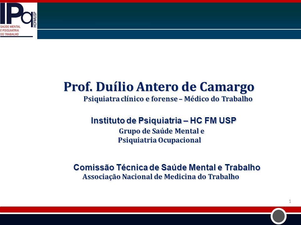 Prof. Duílio Antero de Camargo
