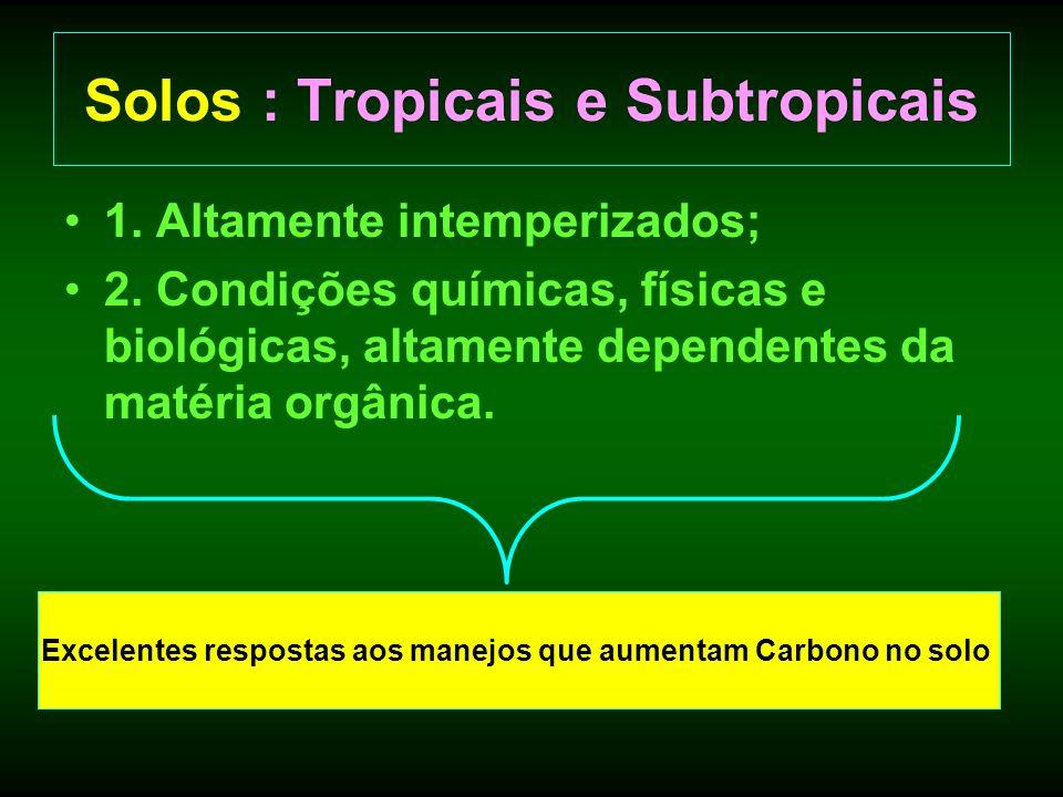 Solos : Tropicais e Subtropicais