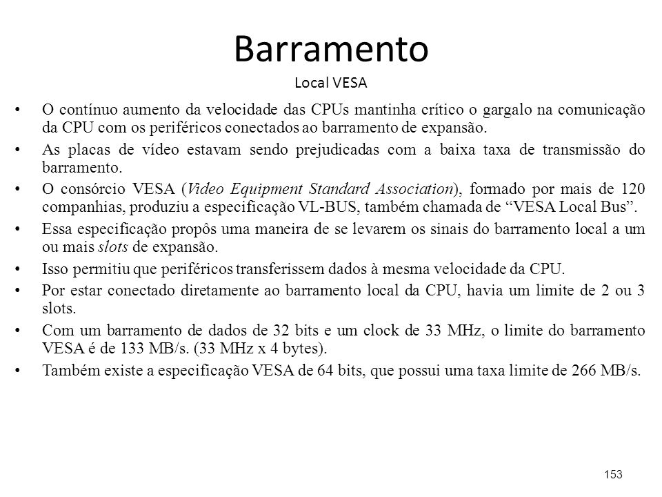 Barramento Local VESA