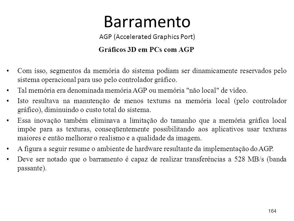 Barramento AGP (Accelerated Graphics Port)