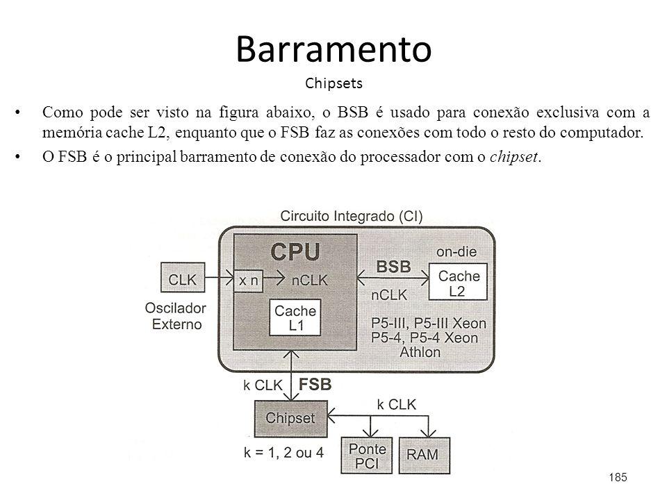 Barramento Chipsets
