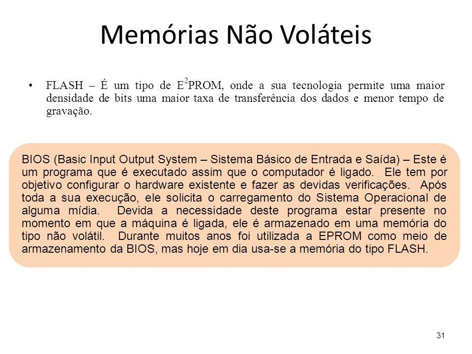 Memórias Não Voláteis