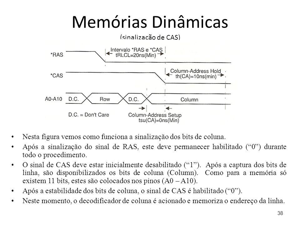 Memórias Dinâmicas (sinalização de CAS)