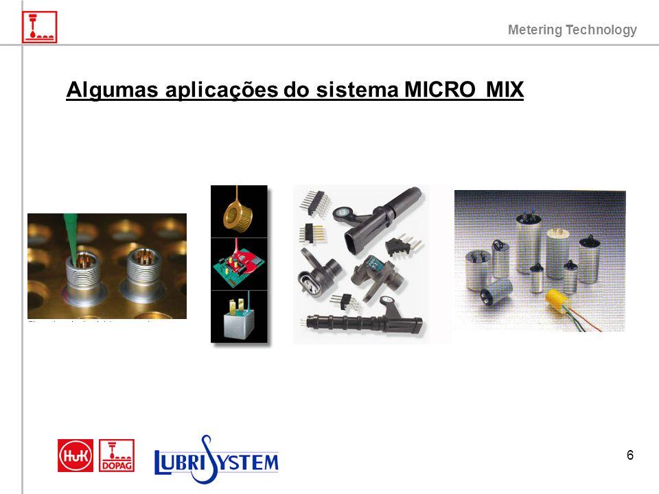 Algumas aplicações do sistema MICRO MIX