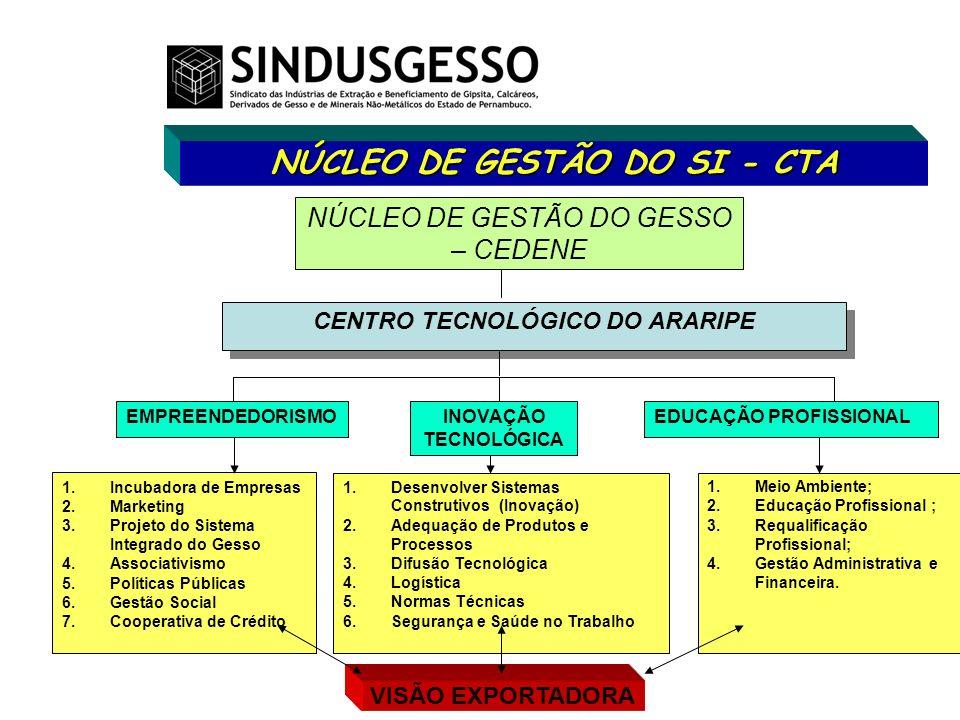 NÚCLEO DE GESTÃO DO SI - CTA CENTRO TECNOLÓGICO DO ARARIPE