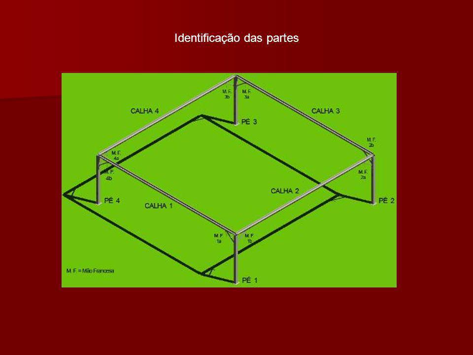 Identificação das partes
