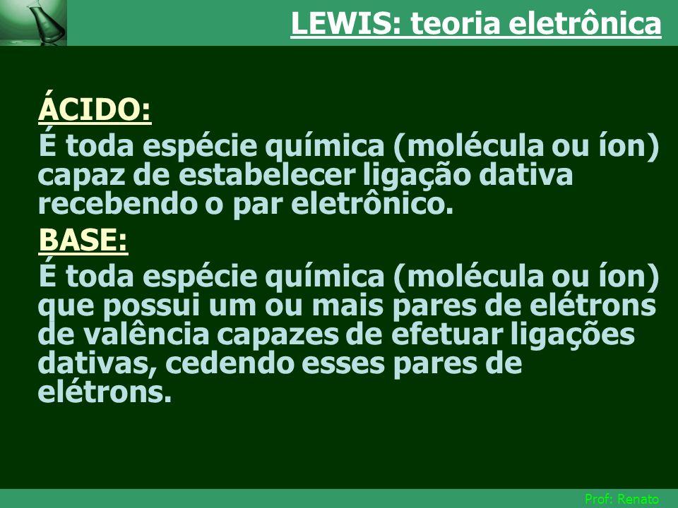 LEWIS: teoria eletrônica
