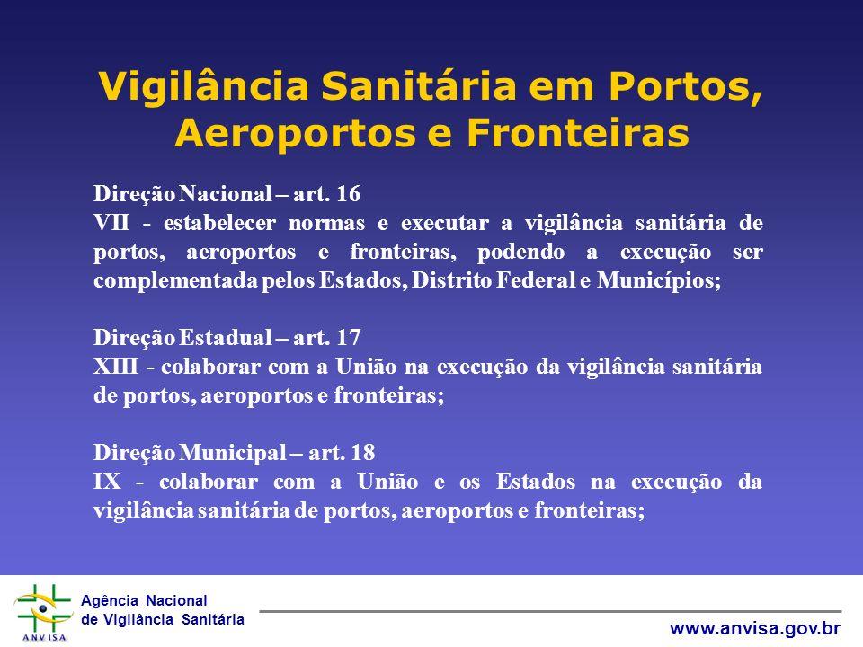 Vigilância Sanitária em Portos, Aeroportos e Fronteiras