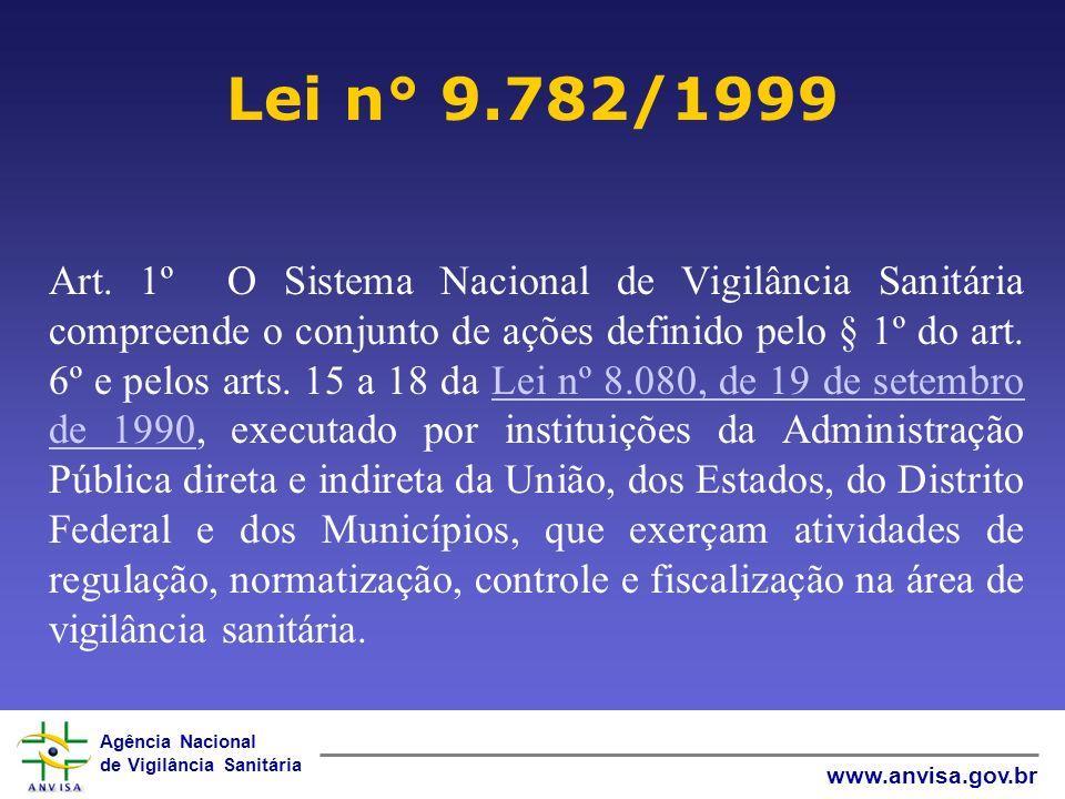 Lei n° 9.782/1999