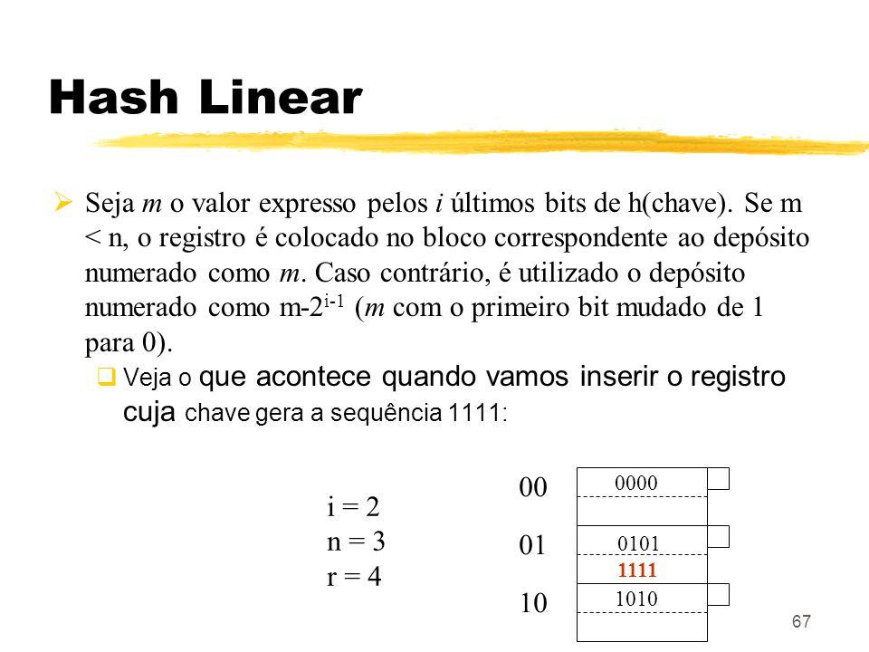 Hash Linear