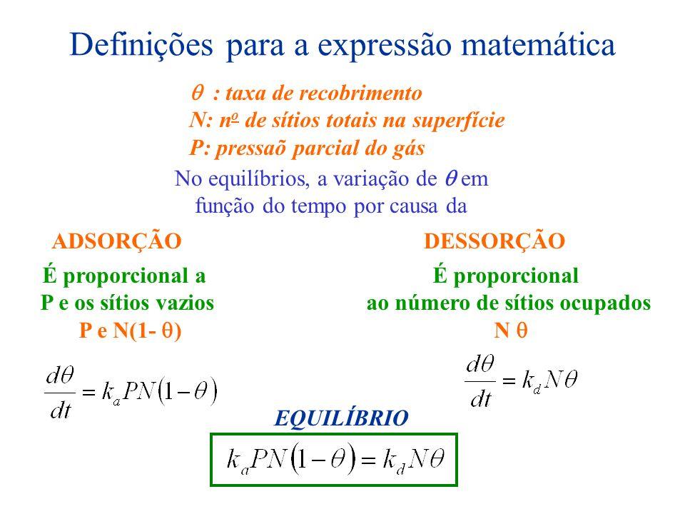 Definições para a expressão matemática