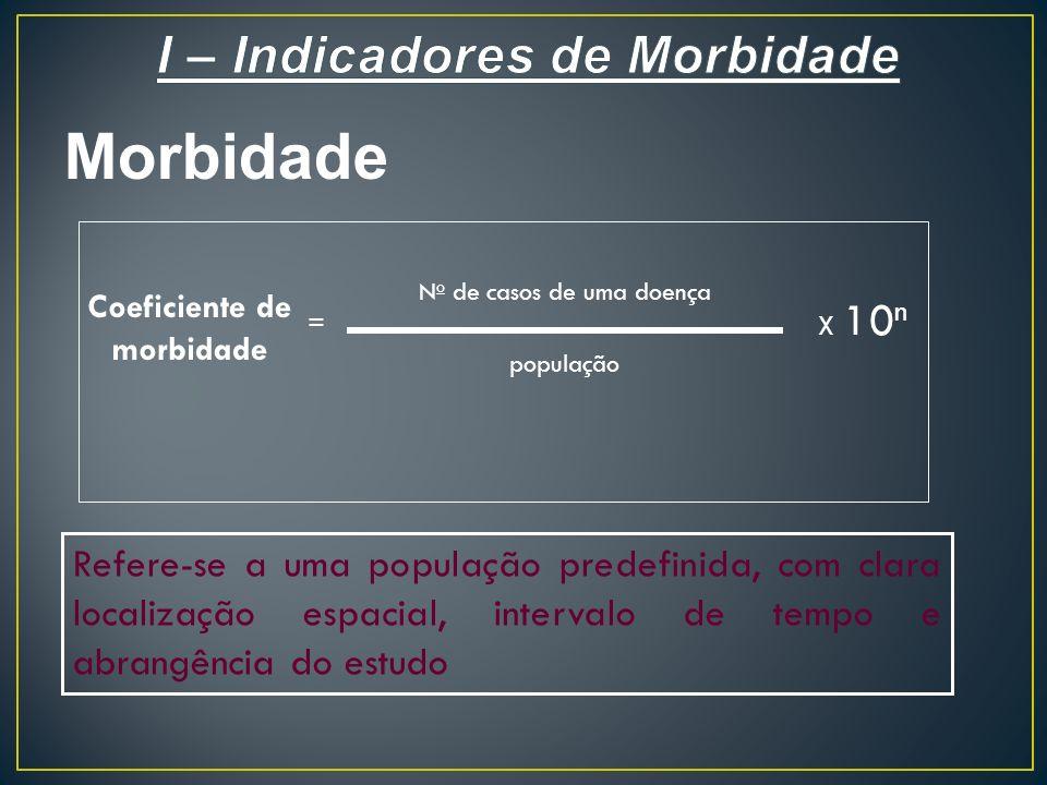 I – Indicadores de Morbidade
