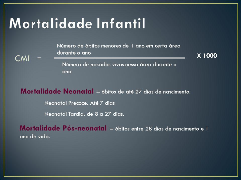 Mortalidade Infantil CMI