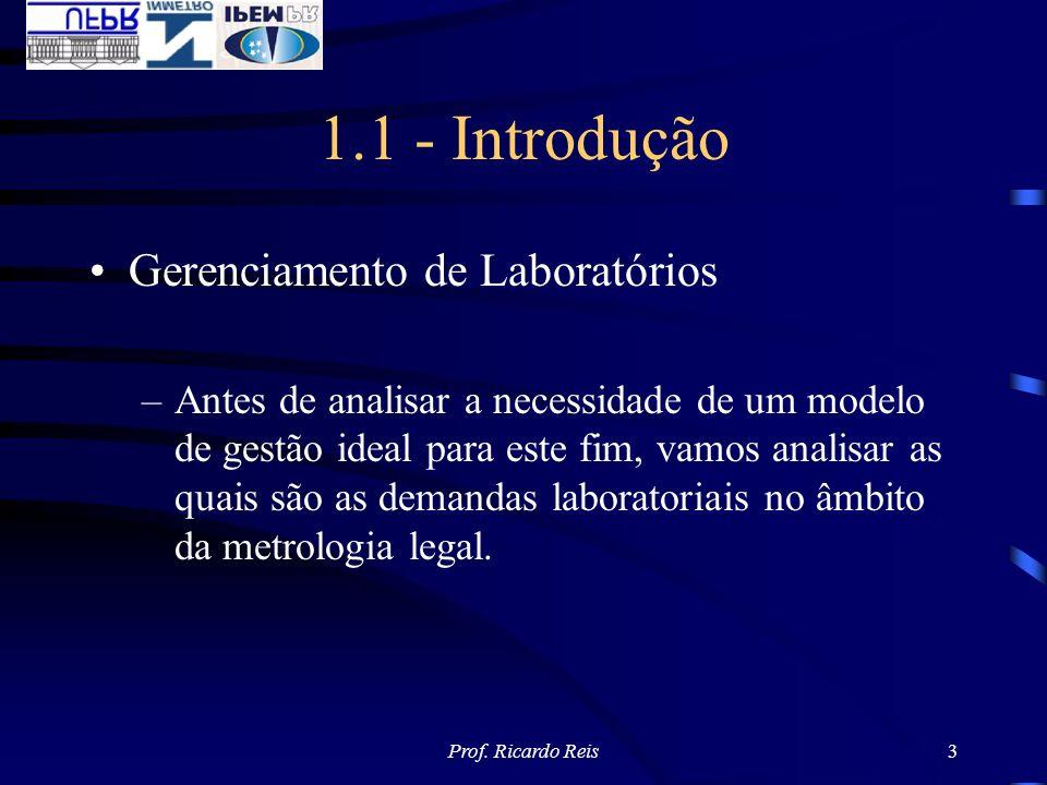 1.1 - Introdução Gerenciamento de Laboratórios